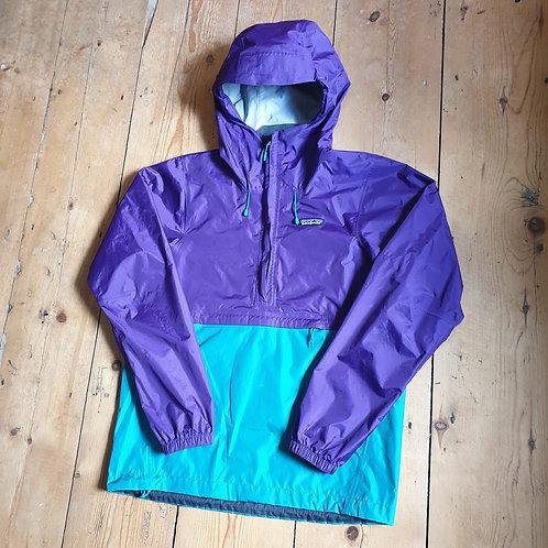 Patagonia Torrentshell Half-Zip Pullover (Pacific Blue / Purple)