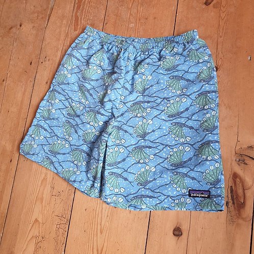Patagonia Baggies Shorts (Pacific Blue / Fish Pattern)