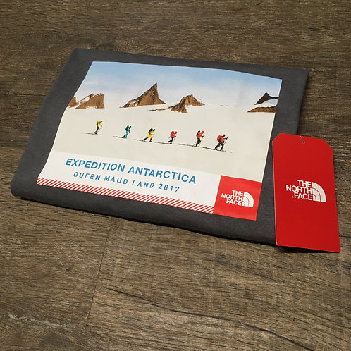 The North Face Antarctica Expedition T-Shirt (Volcanic Grey)
