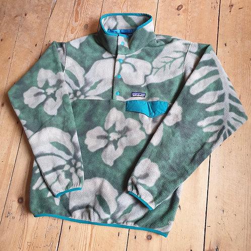 Patagonia Snap-T Synchilla Fleece (Hawaiian Flower)