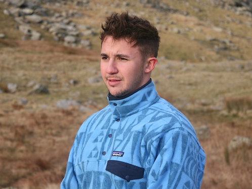 Patagonia Snap-T Synchilla Fleece (Aztec Blue)