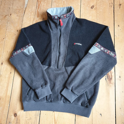 Berghaus Aztec Pullover Fleece (Grey / Black)
