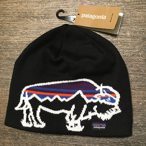 Patagonia Recycled Bison Beanie (Volcanic Black)