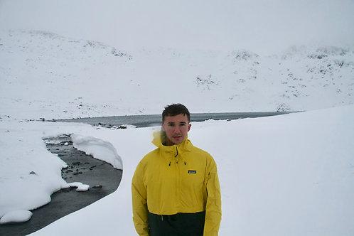 Patagonia Torrentshell Half-Zip Pullover (Yellow + Black)