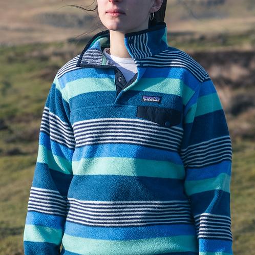 Patagonia Snap-T Synchilla Fleece (Blue / Turquoise)