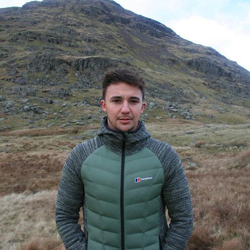 Berghaus Hybrid Fleece Jacket (Forest Green)