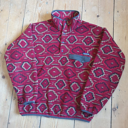 Patagonia Snap-T Synchilla Fleece (Fire Red)