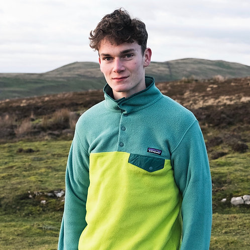 Patagonia Snap-T Synchilla Fleece (Spring Green)
