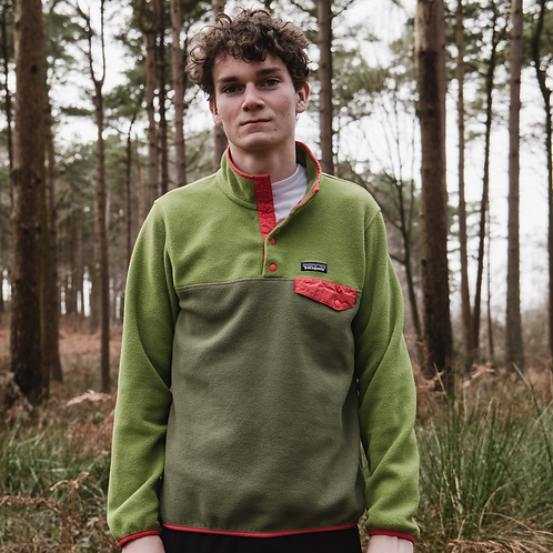 Patagonia Snap-T Synchilla Fleece (Spring Forest)