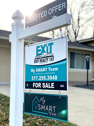 MySMARTteam EXIT Realty 1st Jackson Michigan Realtors Agents Sign Sell House
