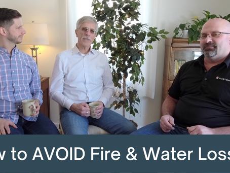 How to Avoid Fire and Water Losses