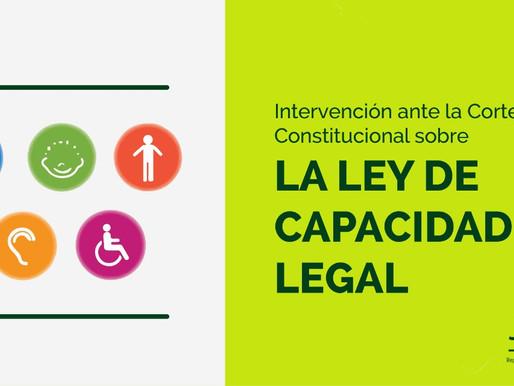 Intervención ante la Corte Constitucional