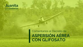 Aspersión aérea con glifosato