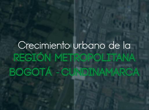 Crecimiento urbano de la Región Metropolitana
