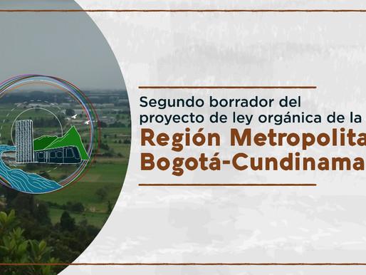 Segundo borrador de la ley de Región Metropolitana