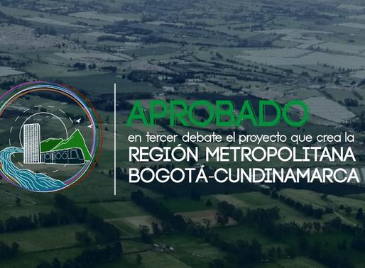 Aprobado el tercer debate Región Metropolitana