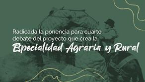 Ponencia Especialidad Agraria para cuarto debate
