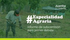 Informe Especialidad Agraria
