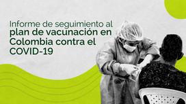 Primer informe de seguimiento al plan de vacunación