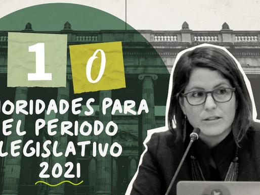Empieza el período legislativo