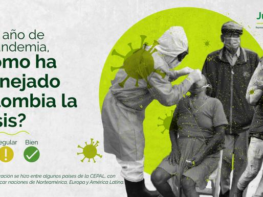 ¿Cómo ha manejado Colombia la crisis por el COVID19?
