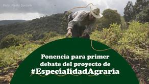 Ponencia Especialidad Agraria