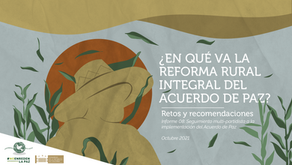 Informe Reforma Rural Integral