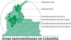 Reducción en el umbral para crear áreas metropolitanas