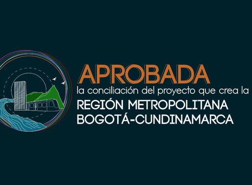 Aprobada #RegiónUnidaYa