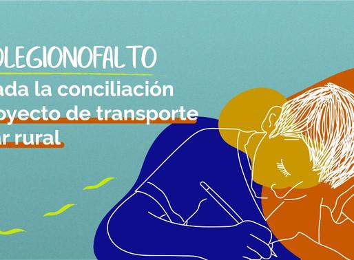 Conciliación #AlColegioNoFalto