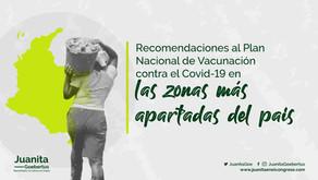Vacunación contra el Covid 19 en la ruralidad
