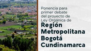 Ponencia Ley Orgánica Región Metropolitana