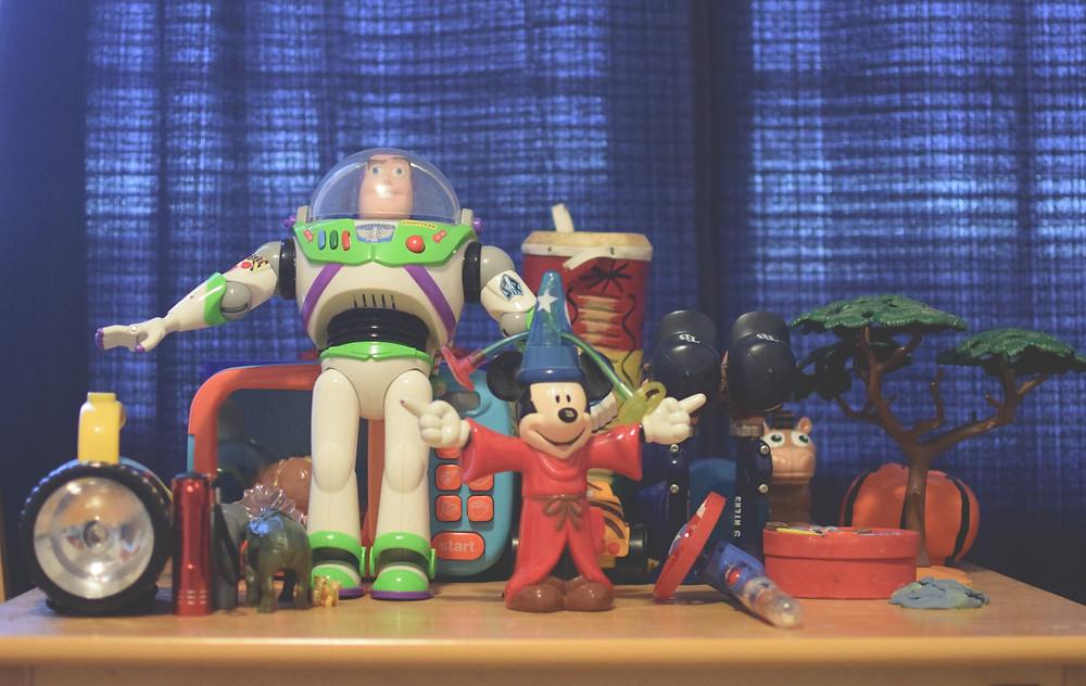 Some of Enensa's favorite toys