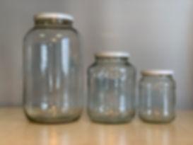 Konzervüvegek, konzervtető, lapka, befőttesüveg