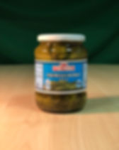 whole dill pickles, 6-9 cm