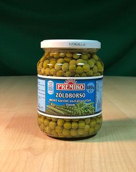 jarred green peas