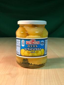 Ecetes almapaprika, csípős , 680g