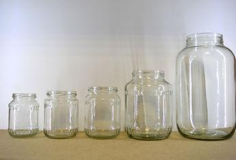 facett 370ml, 580ml, 720ml, 1700ml, 4250ml befőttes üveg