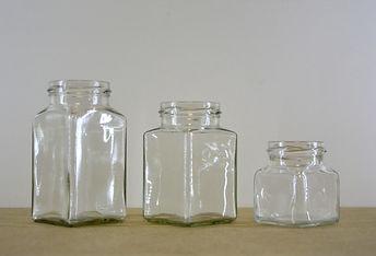 kvadro 120ml, 260ml, 312ml konzervüveg