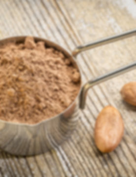 organic cacao powder dark chocolate