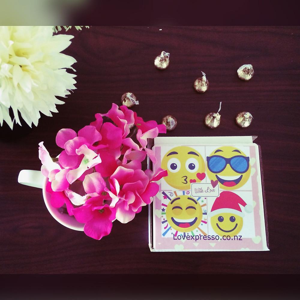 emoji gift box for christmas