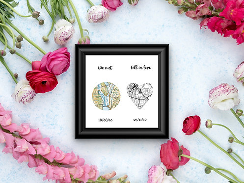 Geographical Love prints!