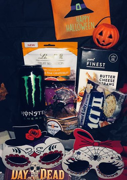 Halloween datebox