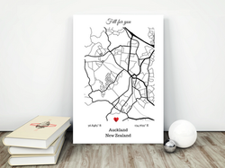 Custom city maps