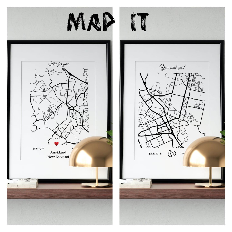 Map sets