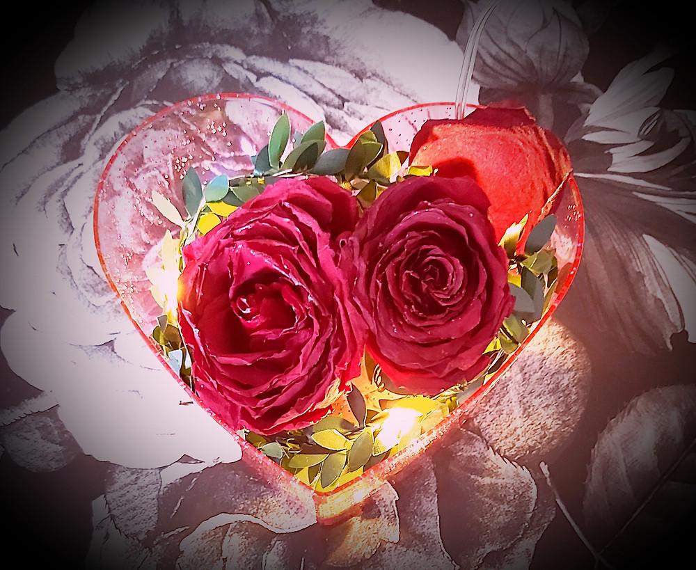 Rose night lamp