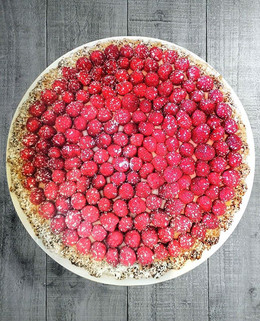 Tarte à la framboise / Raspberry Tart⁠ Madame Matisse makes the best desserts