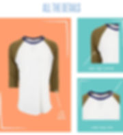 At LuLaRoe, comfort is key and we often liken our dresses and skirts to a simple t-shirt in terms of their wearability and comfort. With LuLaRoe's Randy shirt, we have a t-shirt to offer. This unisex knit shirt resembles a baseball T with its raglan, mid-length sleeves in a contrasting, patterned fabric. It is everything a t-shirt should be: stylish, easy, and comfortable.