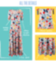 The Ana dress is a floor-length knit maxi dress with a fitted bodice, flattering scoop neck, and mid-length sleeves. The dress easily transitions from casual to dressy, warm weather to cold, and the length is both regal and bohemian. Its versatility is a plus, but its comfort is what will have you falling hard for this dress.