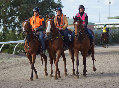 Julien Welsh and his team travel from Booralite Park in Pakenham South to the nearby Cranbourne Training Complex